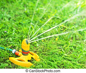 sprayer  - garden sprinkler