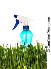Sprayer in the Grass