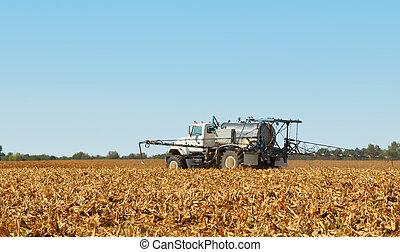 Spraying Farmland