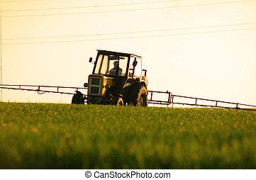 Spraying the Crop