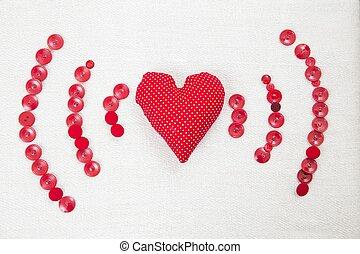 Spread love as wifi signal
