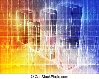 Spreadsheet business charts