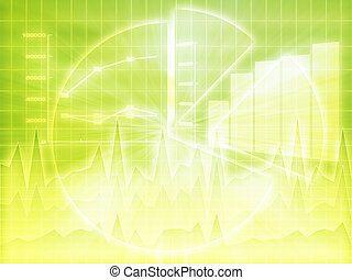 Spreadsheet business charts - Illustration of Spreadsheet...