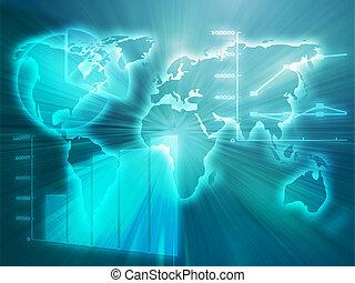spreadsheet, zakelijk, diagrammen