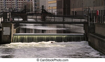 Spree river