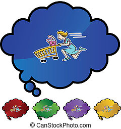 spree, shopping
