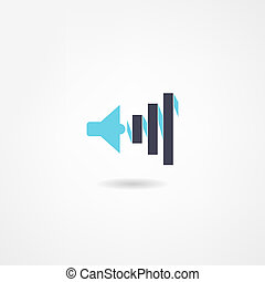 spreker, pictogram