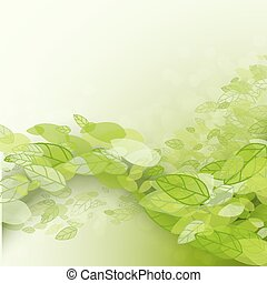 Spring abstract background. Vector illustration. Design...