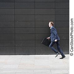 spring, affärsman