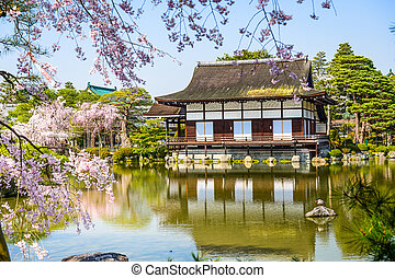 Spring at Heian Shrine in Kyoto - Kyoto, Japan spring at ...
