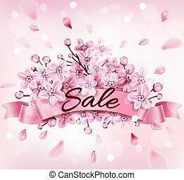 Design for seasonal spring sale