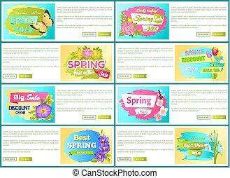 Spring Big Sale -50 Off Advertisement Label Tulip