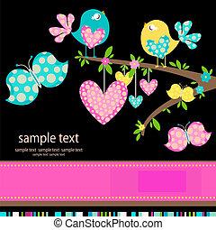 birds in love - spring birds in love