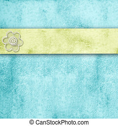 spring blue  background  with copy space