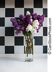 Spring bouquet of lilacs