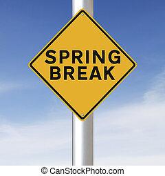 Spring Break Ahead