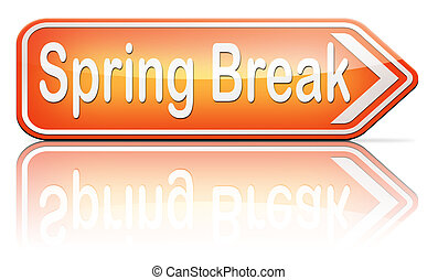 spring break holliday stock illustrations 18 spring break holliday rh canstockphoto com spring break clip art images spring break clip art for teachers