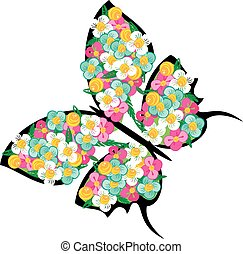 Spring butterfly 3