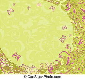 Spring colorful background