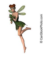 Spring Fairy Flying