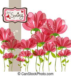 Spring fall in love