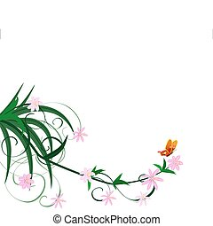 spring flower ornament