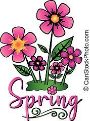 Spring Flowers Artwork