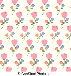 spring flowers background image