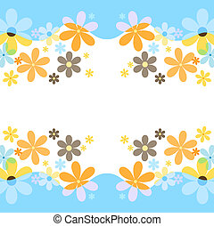Spring flowers - Flower background