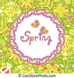 spring flowers, spring background