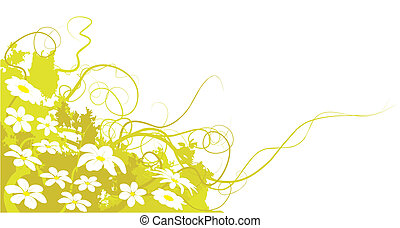 Spring flowers borders a set of seamless repeating spring vector spring flowers mightylinksfo