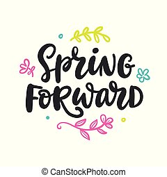 Spring forward Stock Illustrations. 328 Spring forward ...