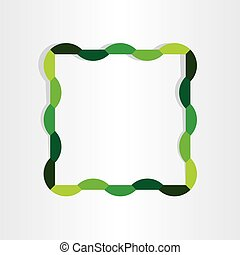 spring frame abstract decorative design