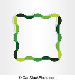 spring frame abstract decorative design
