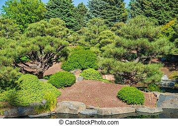 Spring Green Garden