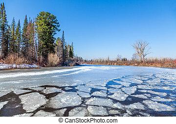 Spring in Siberia