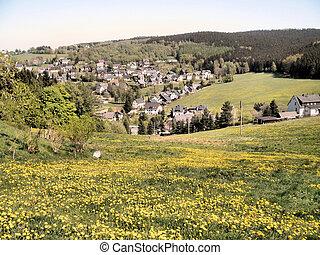 Spring in the Erzgebirge