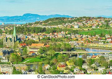 Spring in Trondheim