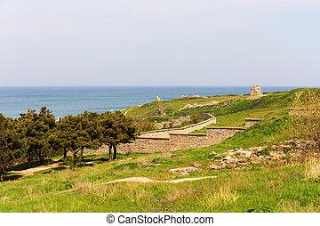 spring landscape in Chersonesos