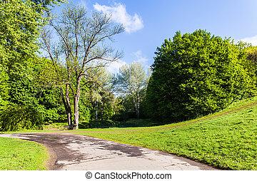 spring landscape Sophia Park
