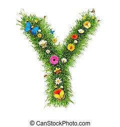 """Spring letter """"Y"""""""