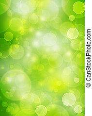 spring natural bubble background