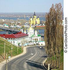 Spring Nizhny Novgorod Russia
