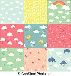 Spring pattern set