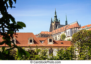 Spring Prague Castle Photo - The Cathedral of St Vitus - Czech Republic - Europe