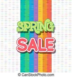 Spring Sale Design Vector
