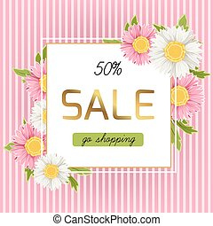 Spring sale discount chamomile daisy flowers