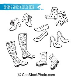 spring shoes collection