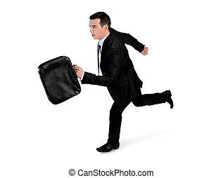 spring, sida, affärsman