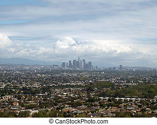 Spring storms in Los Angeles